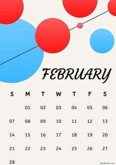 February 2021 iPhone Calendar Wallpaper