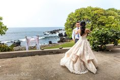 Kukahiko estate wedding by Hawaii Weddings by Tori Rogers, www.hawaiianweds@aol.com, meew mere studios photography, maui wedding planner, first dance