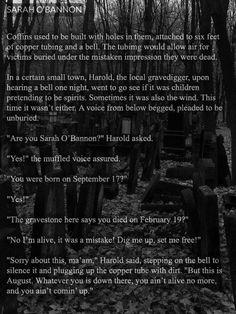 Scary Stories - Sarah O'Bannon