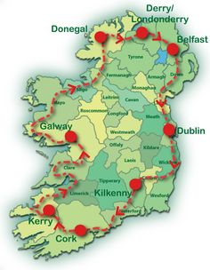 Have a look at the route that our Best of All Ireland 15 tour takes... http://www.tourireland.com/selfdrivetours/?category=5=31