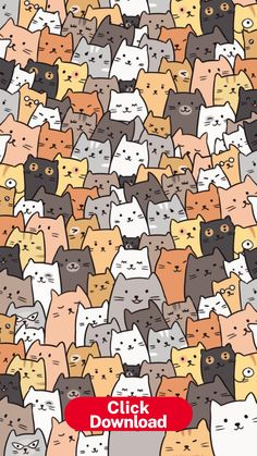 Wallpaper Katzen – Cats – #cats #Katzen #wallpaper | Cat pattern ... Wallpaper Gatos, Cat Pattern Wallpaper, Iphone Wallpaper Cat, Tier Wallpaper, Cute Cat Wallpaper, Kawaii Wallpaper, Cute Wallpaper Backgrounds, Animal Wallpaper, Pretty Wallpapers