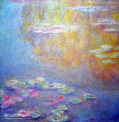 Water Lilies by Claude Monet - Oil Painting Reproduction - BrushWiz.com