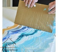 Rate this from 1 to Wall Art Roundup: Free Printables for Gallery Walls 25 Creative and Easy DIY Canvas Wall Art Ideas 46 Inventive DIY Wall Art Projects Art Diy, Inspiration Art, Creative Inspiration, Creative Ideas, Diy Canvas, Blank Canvas, Canvas Ideas Kids, Beach Canvas Art, Blue Canvas Art