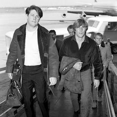 Brian and Dennis Wilson