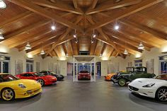 This is a garage!!!!  4 Million Dollar Home in WA with 16 Car Garage 4