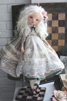 Купить Алиса - алиса в стране чудес, алиса, кукла ручной работы, кукла текстильная