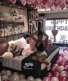 Gifts birthday aesthetic new ideas birthday gifts 20 trendy ideas for birthday pictures friends birthday 17th Birthday Gifts, Sleepover Birthday Parties, Birthday Party For Teens, Sweet 16 Birthday, Birthday Photos, Birthday Room Surprise, 18th Birthday Party Ideas For Girls, Romantic Birthday, 22nd Birthday