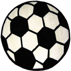 Round Soccer Ball Area Rug 39 * Click on the image for additional details.(It is Amazon affiliate link) #likecomment