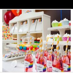 Raynbow party idea #party #ideas #curvysation #fun #celebration