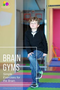 BRAIN GYM: Simple Brain Gym Exercises to Awaken the Brain for Learning Readiness – Integrated Learning Strategies - Pin Hairs Learning Tips, Brain Based Learning, Kids Learning, Gross Motor Activities, Sensory Activities, Activities For Kids, Physical Activities, Morning Activities, Sensory Rooms