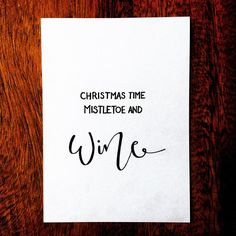 Happy holidays! Get in touch for unique personalised gift cards.  #type #TY_CA #typegang #typespire #typography #font #freehandlettering #lettering #letteringco #wine #mistletoe #christmas #christmascard #holidays #festive #festiveseason #goodtype #handmade #handtype  #handdrawn #handmadefont