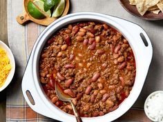 The name says it all: Ree's chili is a simple, perfect meal-in-a-hurry.