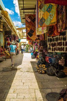 Shopping in Old Jerusalem