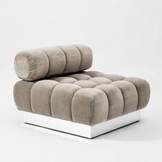 Todd Merrill Custom Originals, the Classic Tufted Sectional, USA, 2015 Living Room Sofa, Living Room Decor, Sofa Furniture, Modern Furniture, Tufted Sectional, Modern Sofa Designs, Unique Sofas, Art Nouveau Furniture, Miniature Crafts