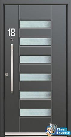 Haustüre AGE 1520 aus Aluminium