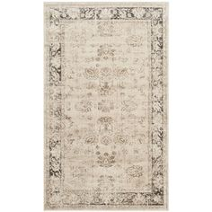 Safavieh Vintage Stone Viscose Rug (3' 3 x 5' 7) - by door (ties into kitchen - and other vintage looking area rug for living)