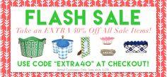 Shop our 1-Day #FlashSale