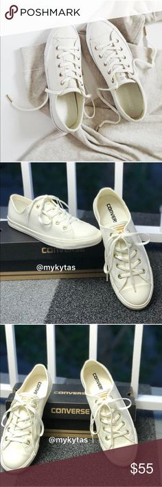 744d44182e83 NWT Converse Ctas Dainty OX Egret LT W AUTHENTIC Brand new with box. Price  is