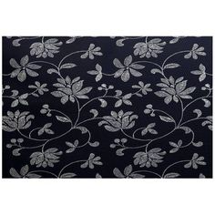 Simply Daisy 4' x 6' Traditional Floral Floral Print Indoor Rug, Blue