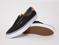 #Vans Era 59 CL Black Washed #sneakers