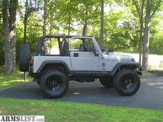 ARMSLIST - For Sale: 2001 JEEP WRANGLER TJ SPORT LIFTED