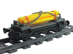 MOC: Pipe Transport - LEGO Train Tech - Eurobricks Forums