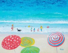 beach art paintings fish - Google Search