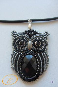 Owls.   biser.info - всё о бисере и бисерном творчестве