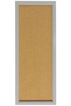 """Cork Board (49$)  Comes in White, grey, brown    13"""" w x 33"""" h"""