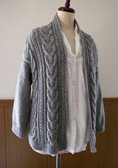 Ravelry: Stranger Cardigan pattern by michiyo
