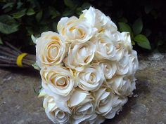 Bouquet de ROSE Qualité fleurs artificielles décoration mariage