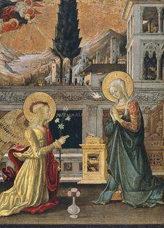 The Annunciation - Benedetto Bonfigli | Museo Thyssen