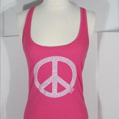 Victoria secret pink Tank Top Excellent condition Pink Tops Tank Tops