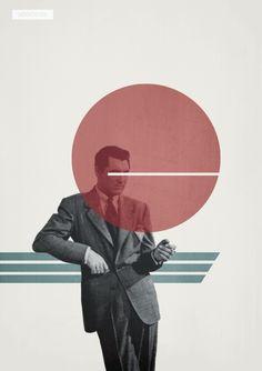 Vintage Graphic Design Poster Design by Ben Oldham. Collage Design, Collage Art, Design Art, Design Layouts, Cover Design, Diy Design, Graphic Design Posters, Graphic Art, Vintage Graphic