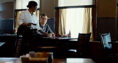 A waitress serves Richard (Michael Shannon) coffee. | The Harvest (2013), directed by John McNaughton | Tags: #screencaps, horror movie, film, restaurant