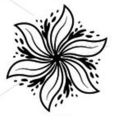 Flower Art Tattoo arm neck back