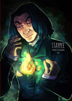 "masterseverussnape: ""Snape, Snape, Severus Snape by staypee """
