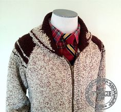 Vintage Men's Wool Shawl Collar Cardigan by TheIvyLeagueShop, $100.00