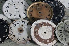 1 Vintage Baby Ben Clock Face by CaityAshBadashery on Etsy, $4.95