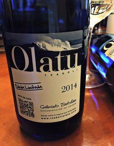 El Alma del Vino.: Akarregi Txiki Olatu Txakoli 2014.