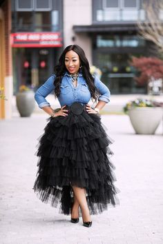 acc71b97d507d The Gala Tutu Skirt. Snazzy Clozet. African Fashion ...