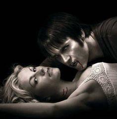 Stephen Moyer as Vampire Bill Compton with Sookie in True Blood.