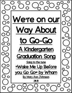 14 best kindergarten graduation songs images on Pinterest