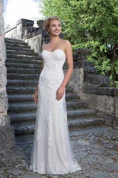 3880 - Gardenia - Sincerity 3880 Destination Wedding Dress at Blessings of Brighton