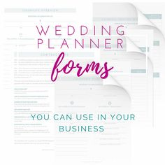 Wedding Planner Forms - Printable Business Forms - NO Photoshop Required! - - Wedding Planner Forms – Printable Business Forms – NO Photoshop Required! The Plan, How To Plan, Wedding Themes, Wedding Designs, Wedding Events, Weddings, Wedding Coordinator, Wedding Dresses, Wedding Catering