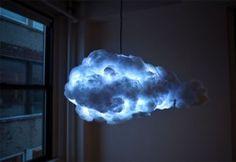 """Questa """"nube lampada"""" interattiva porterà un temporale nel tuo salotto"""