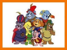 """Kennst du die Figuren von """"Disneys Gummibärenbande""""?"""
