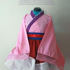 Cosplay Wishlist: Mulan Cosplay Kimono Dress Wa Lolita Skirt Accessory Disney | Darling Army