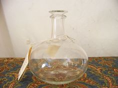 """Jamestown Glass"" Spirits Bottle"