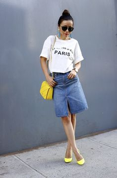 http://www.shallwesasa.com/2015/05/madewell-taylor-Crop-Graphic-tee-denim-skirt-outfit.html